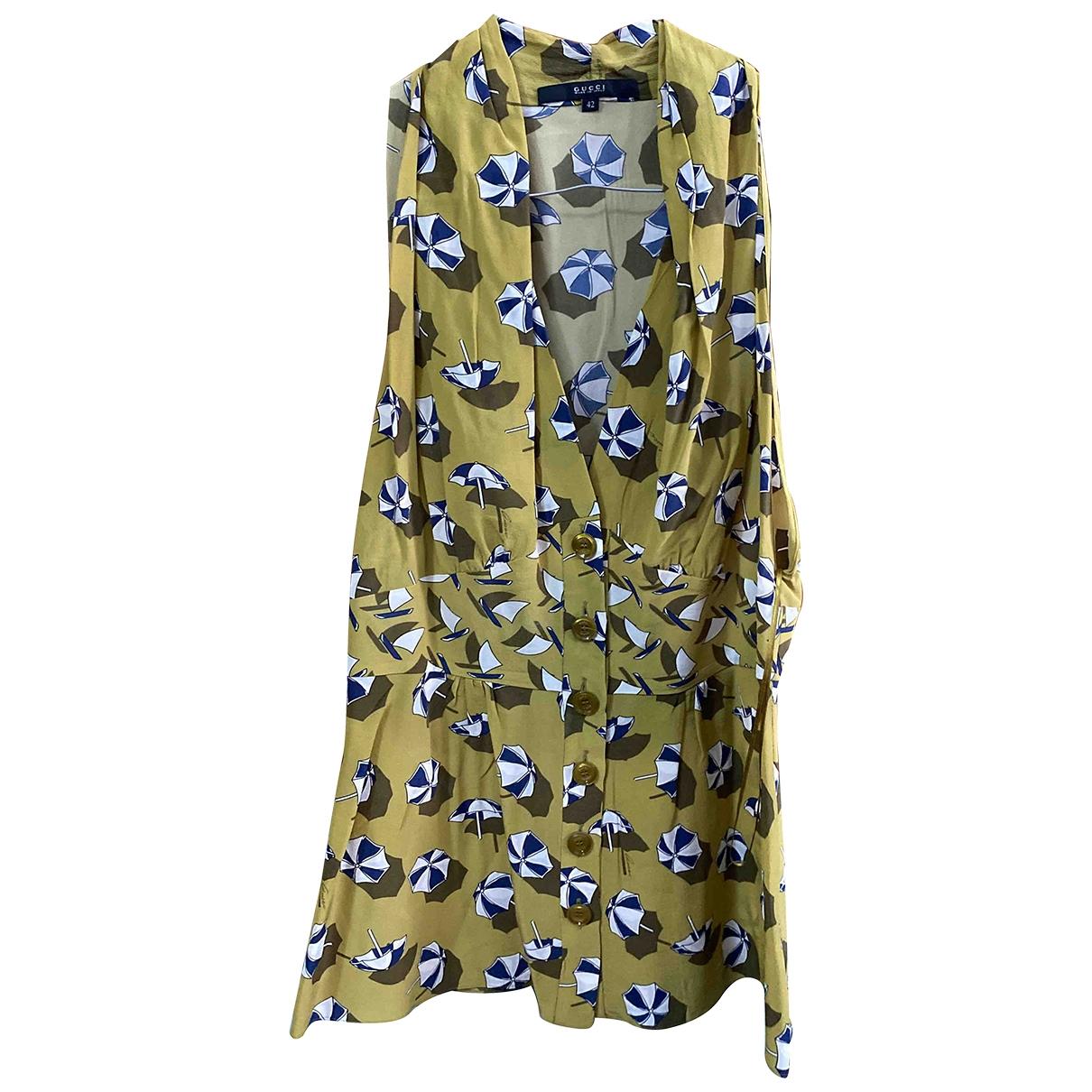 Gucci \N Silk  top for Women 42 IT