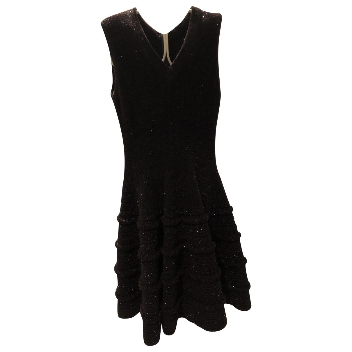 Alaïa \N Brown dress for Women 42 IT