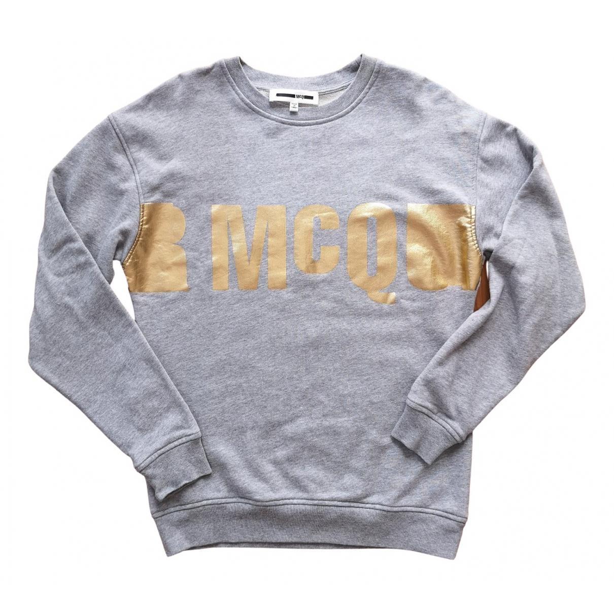Mcq \N Grey Cotton Knitwear for Women XXS International