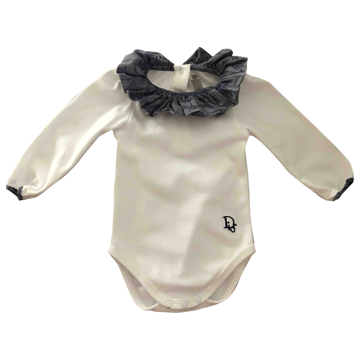 Baby Dior \N White Cotton Outfits for Kids 3 months - up to 60cm FR