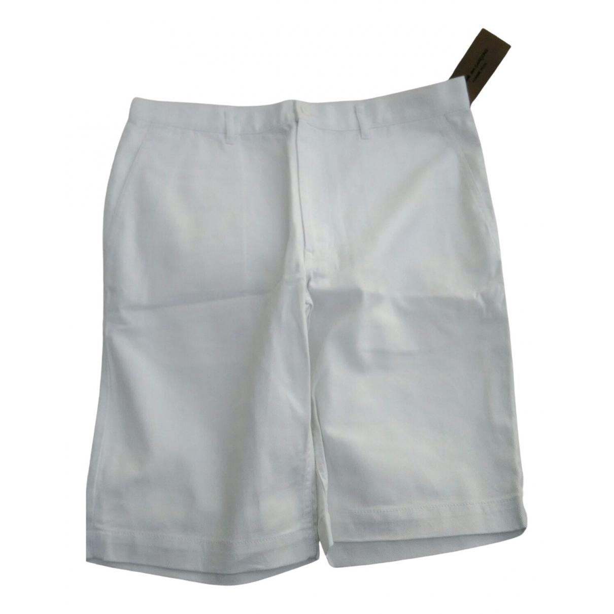 Comme Des Garcons \N White Cotton Shorts for Men XL International