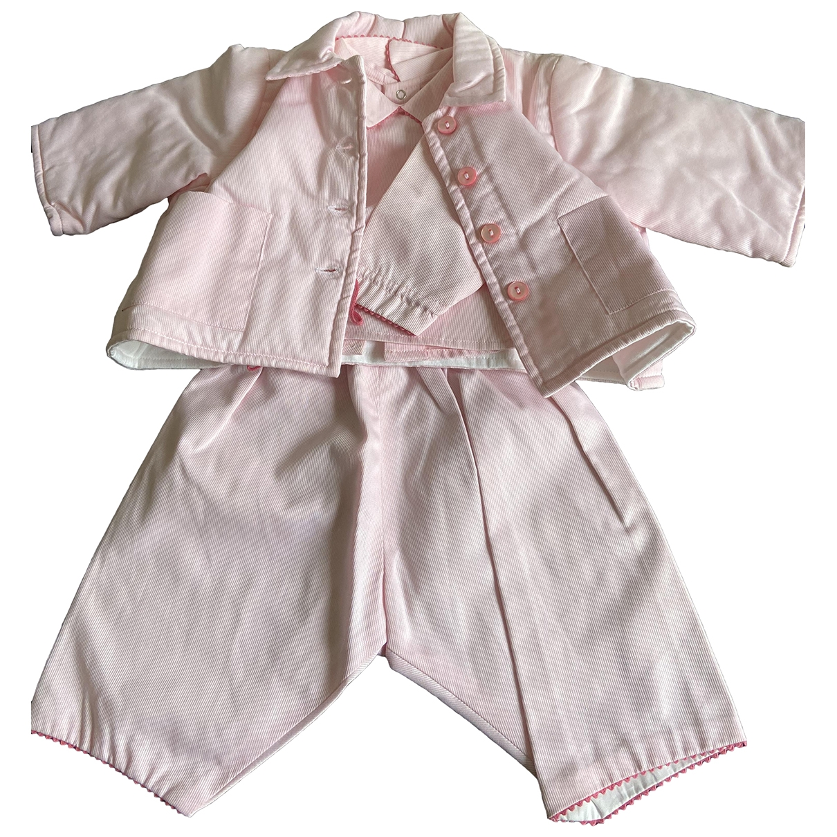 Bonpoint \N Pink Cotton Outfits for Kids 1 months - up to 55cm FR