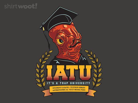It's A Trap University T Shirt