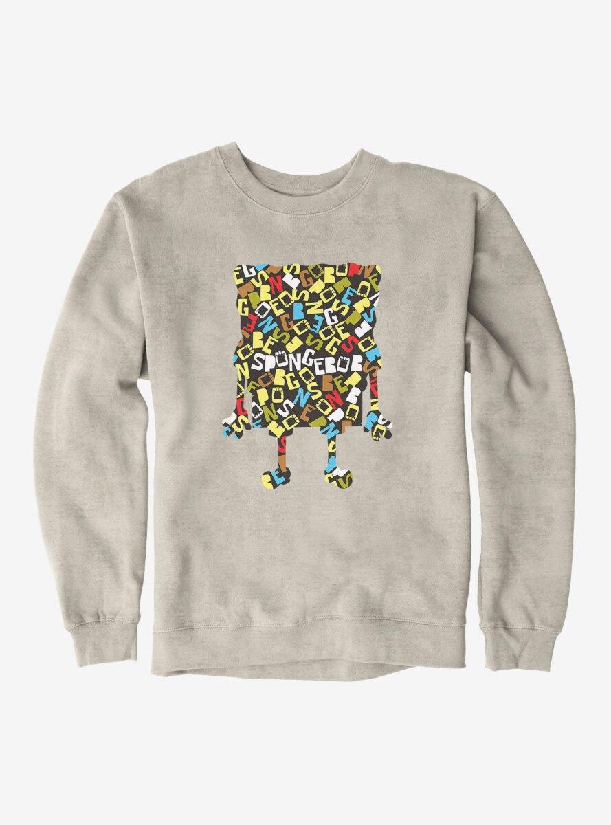SpongeBob SquarePants Script Outline Sweatshirt