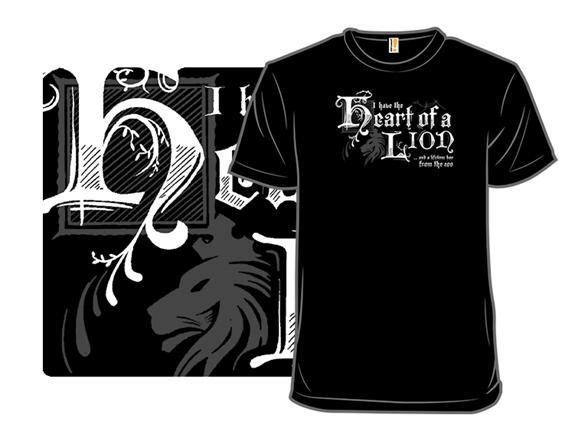 Lion Heart T Shirt