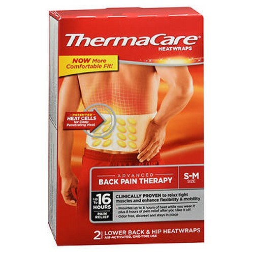 Thermacare Lower Back And Hip 2 each by Thermacare