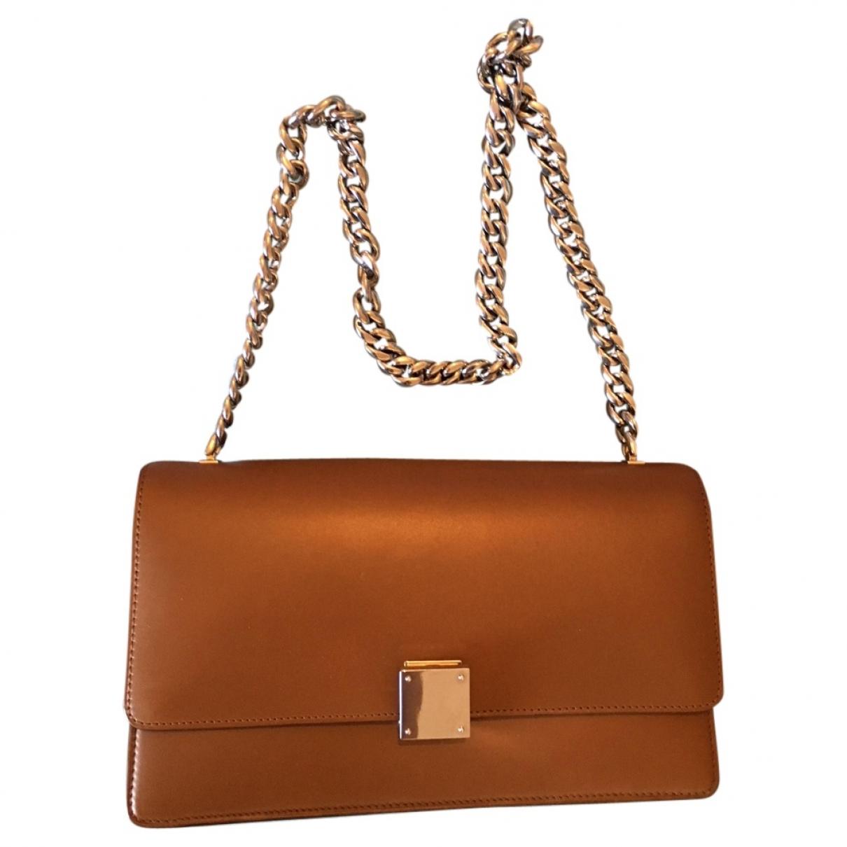 Celine Case flap Camel Leather handbag for Women \N
