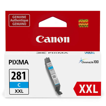 Canon CLI-281XXL cartouche d'encre originale cyan extra haute capacite