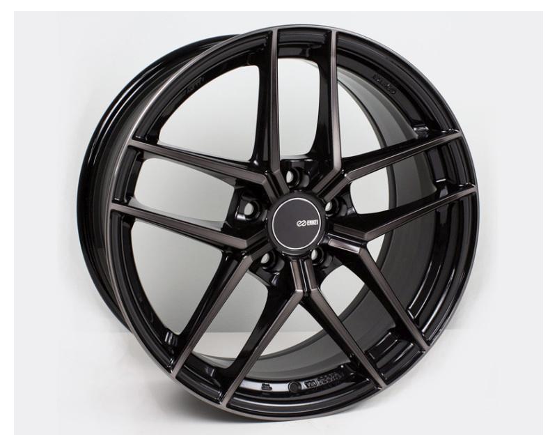 Enkei TY5 Wheel Tuning Series Pearl Black 18x8.5 5x114.3 35mm