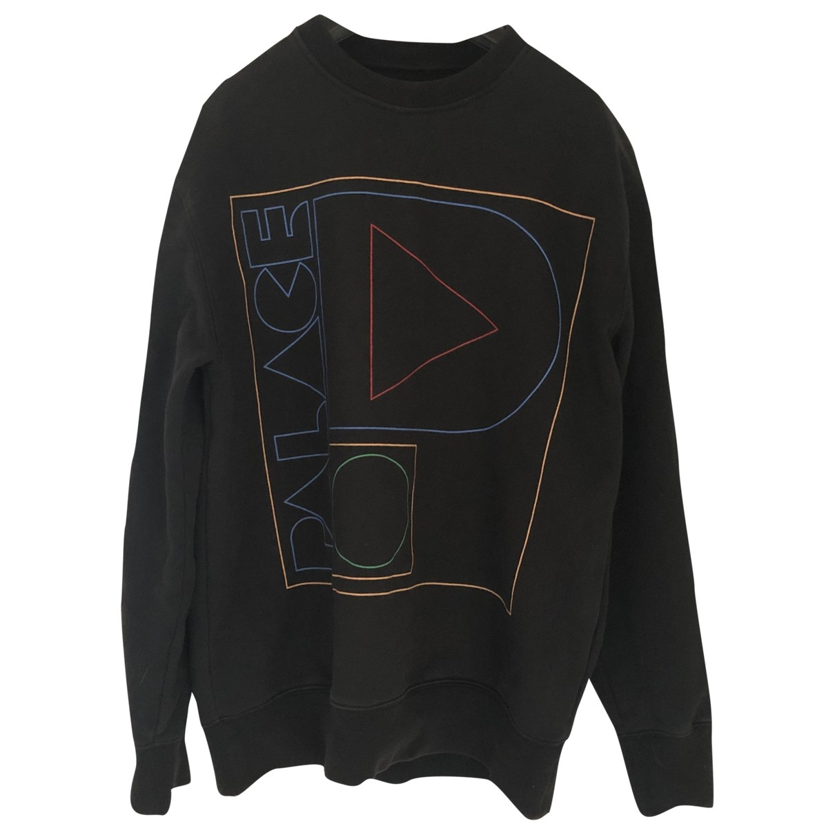 Palace \N Black Cotton Knitwear & Sweatshirts for Men S International