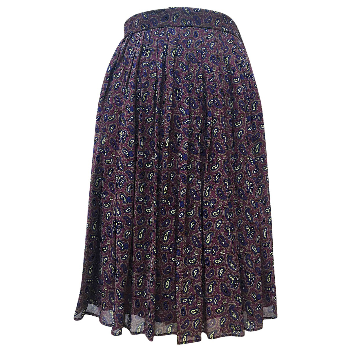 Non Signé / Unsigned \N Multicolour Silk skirt for Women 40 IT