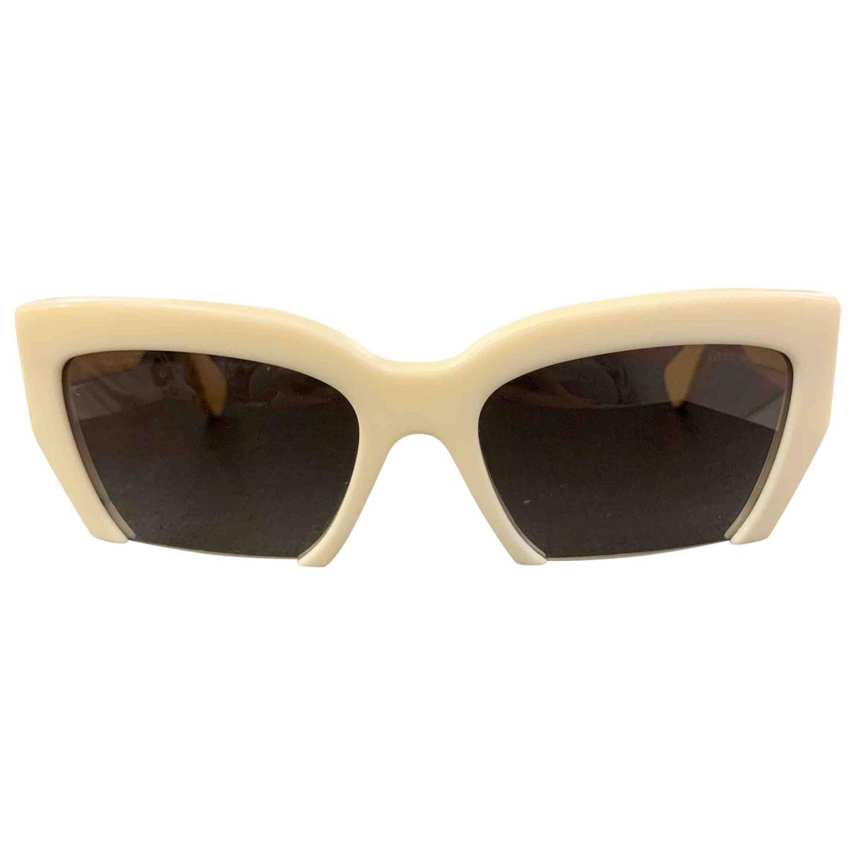 Miu Miu \N White Sunglasses for Women \N