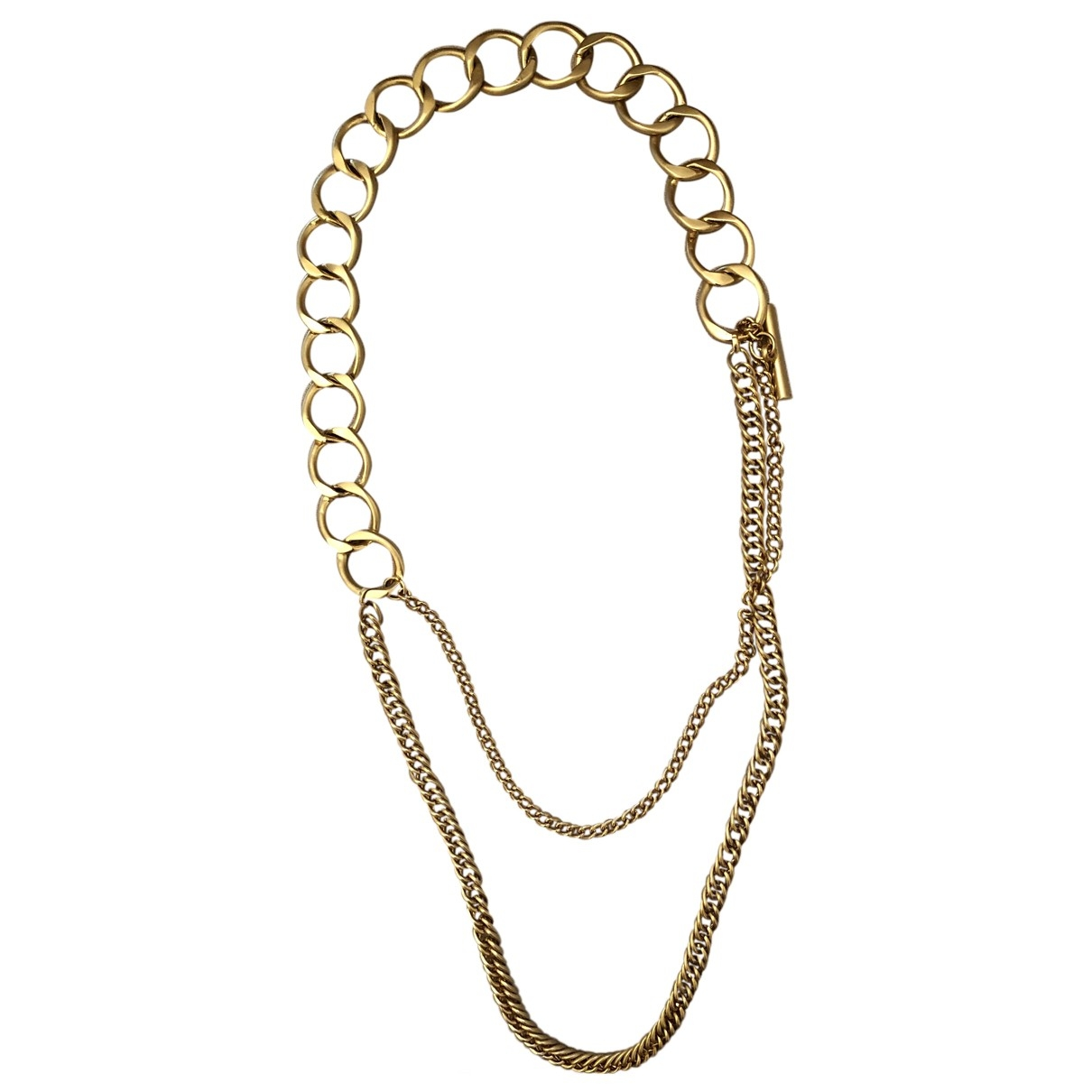 Non Signé / Unsigned \N Gold Chain belt for Women M International