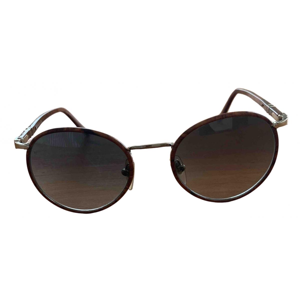 Persol \N Brown Wood Sunglasses for Men \N
