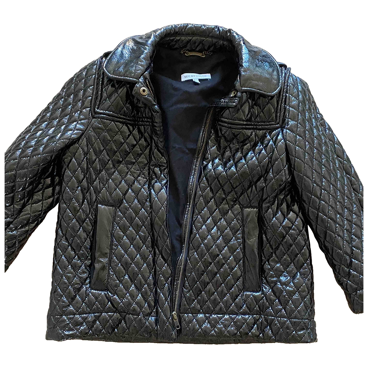 See By Chloé \N Black Cotton jacket for Women 40 IT