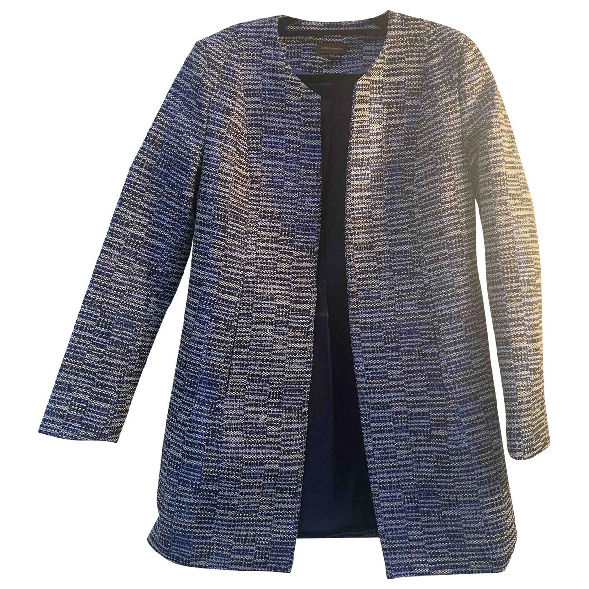 Adolfo Dominguez \N Navy coat for Women 40 IT