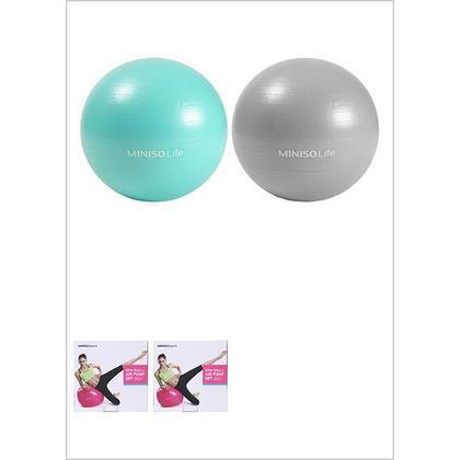 Ballon de gymnastique + ensemble de pompe à air, 65 cm Miniso