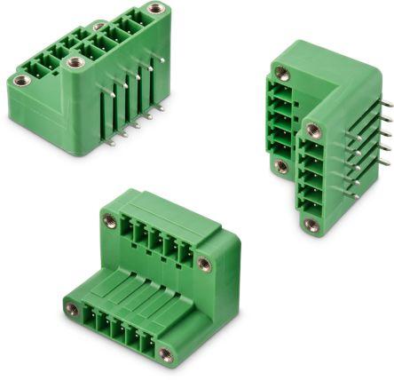 Wurth Elektronik , WR-TBL, 357B, 8 Way, 2 Row, Vertical PCB Header (60)