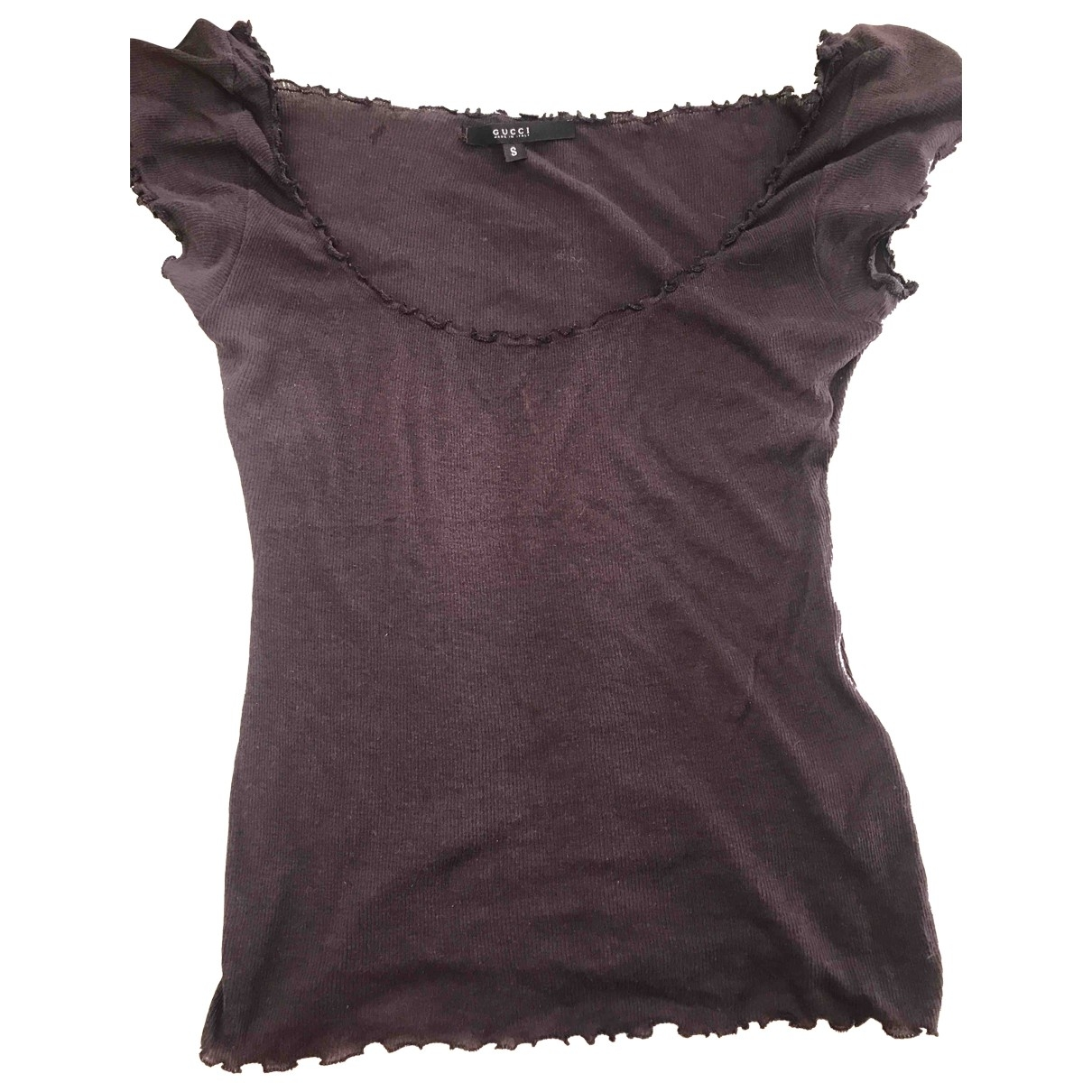 Gucci \N Purple Cotton  top for Women S International