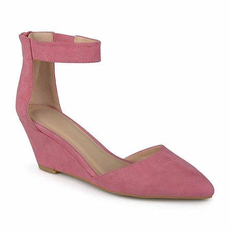 Journee Collection Womens Kova Slip-On Shoes, 7 1/2 Medium, Pink