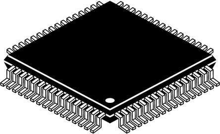 EXAR Quad-Channel, LQFP UART 1.5Mbit/s, 2.97 → 5.5 V, 64-Pin ST16C554DIQ64-F
