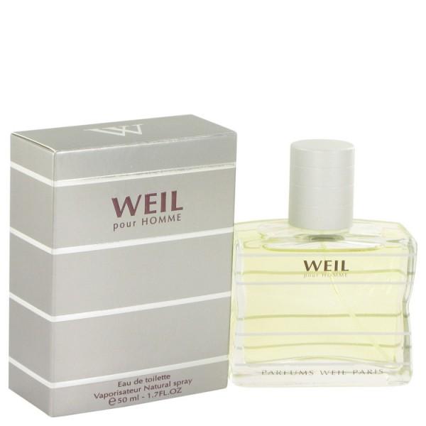 Weil - Weil Pour Homme : Eau de Toilette Spray 1.7 Oz / 50 ml