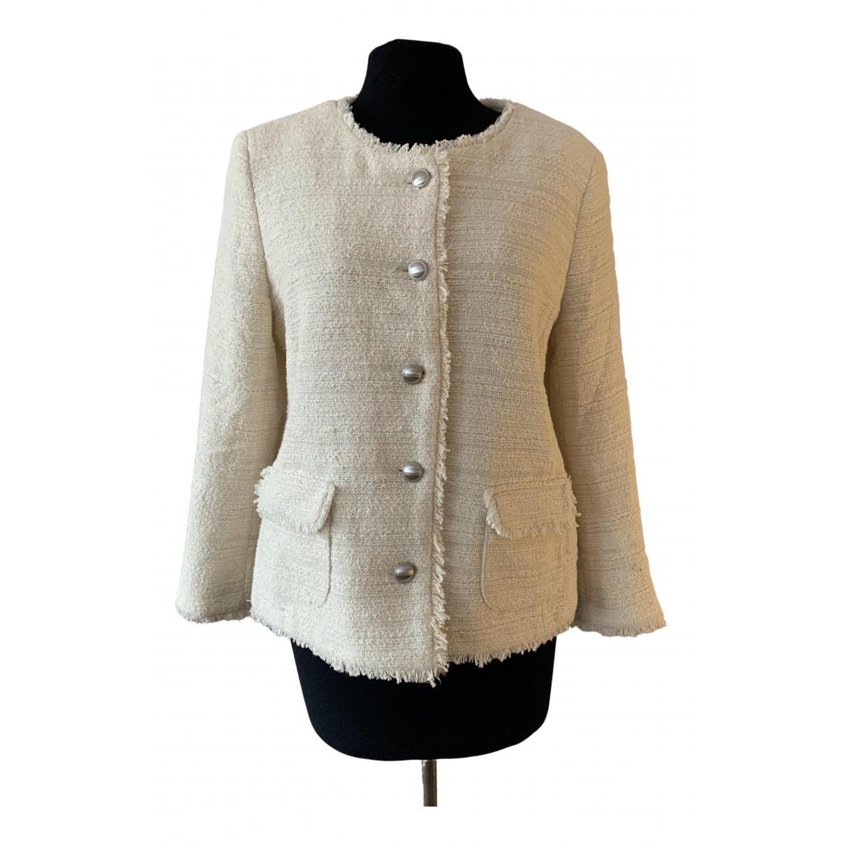 Gerard Darel \N Ecru jacket for Women 40 FR