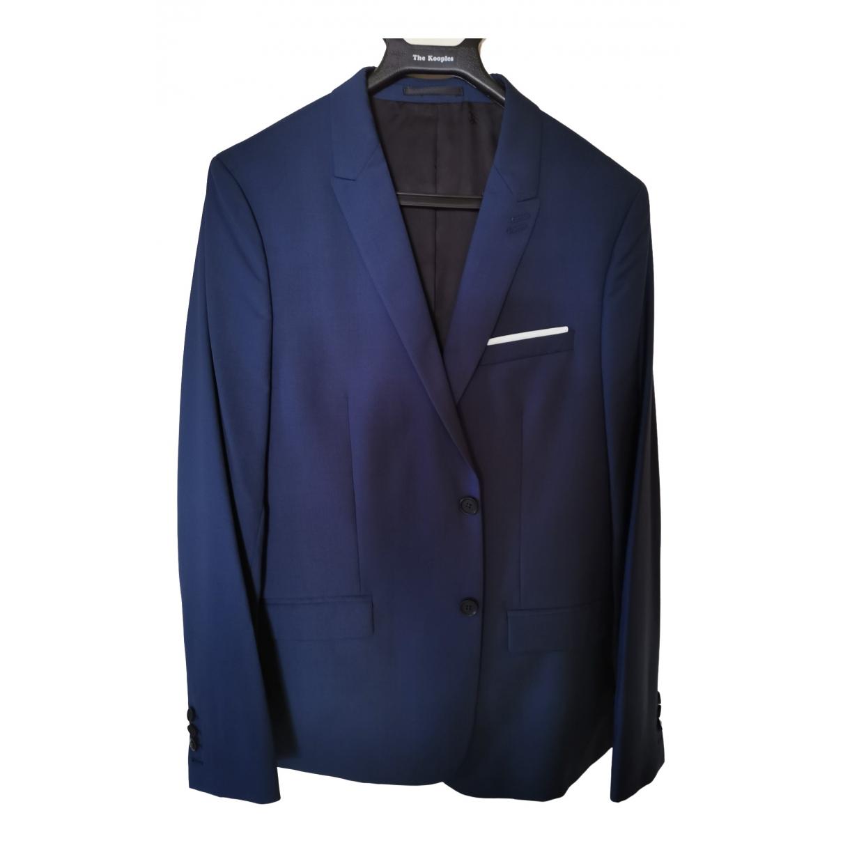 The Kooples \N Blue Wool Suits for Men 50 FR
