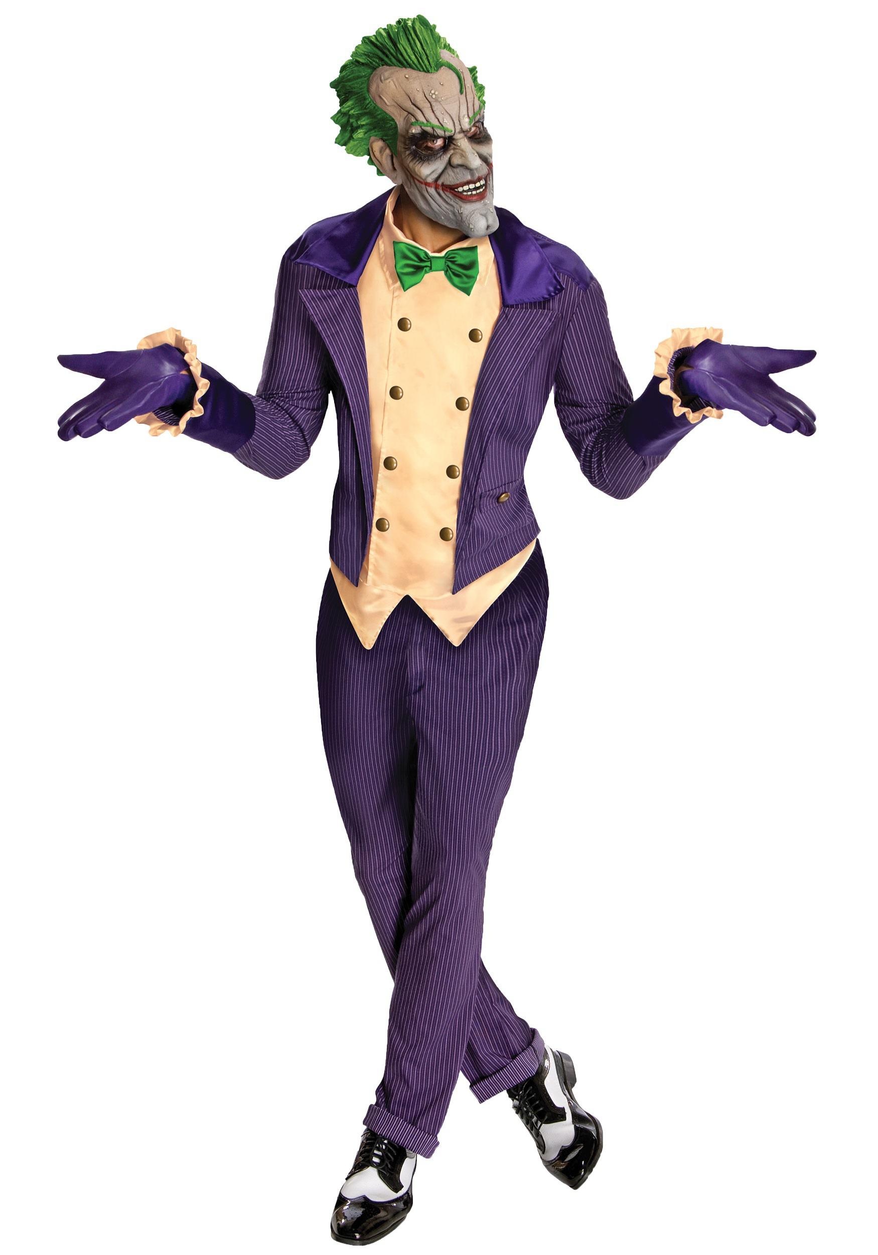 Arkham City The Joker Costume