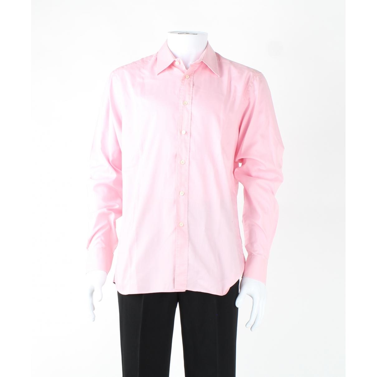 Prada \N Pink Cotton Jeans for Men 32 US