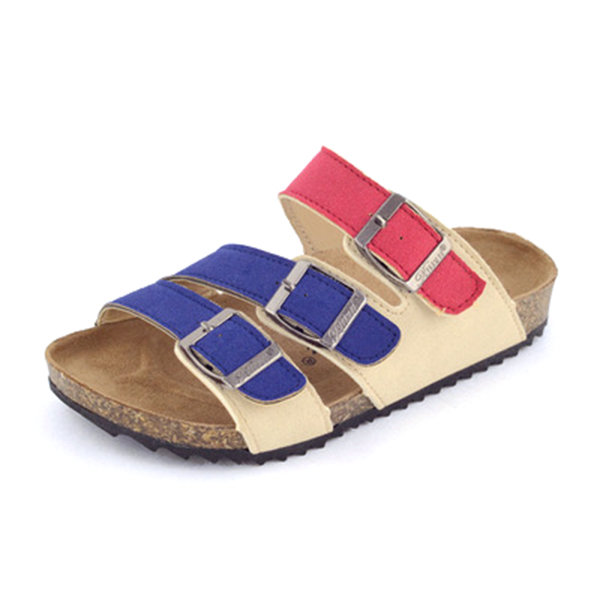 Kids Unisex Leisure Beach Shoes Softwood Cork Slippers