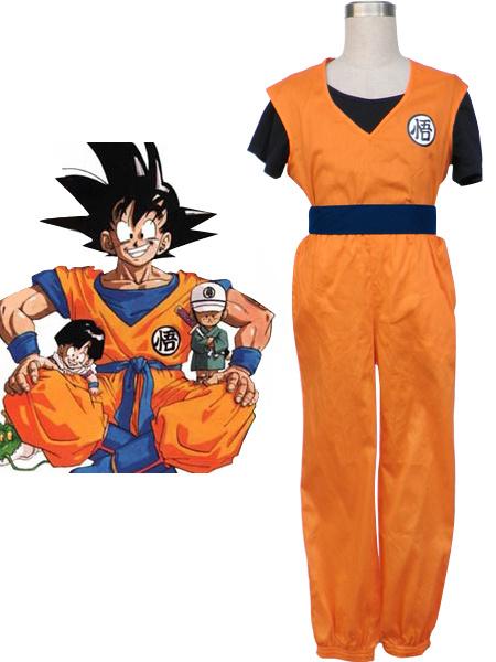 Milanoo Dragon Ball Son Goku Halloween Cosplay Costume Kakarotto Cosplay  Halloween