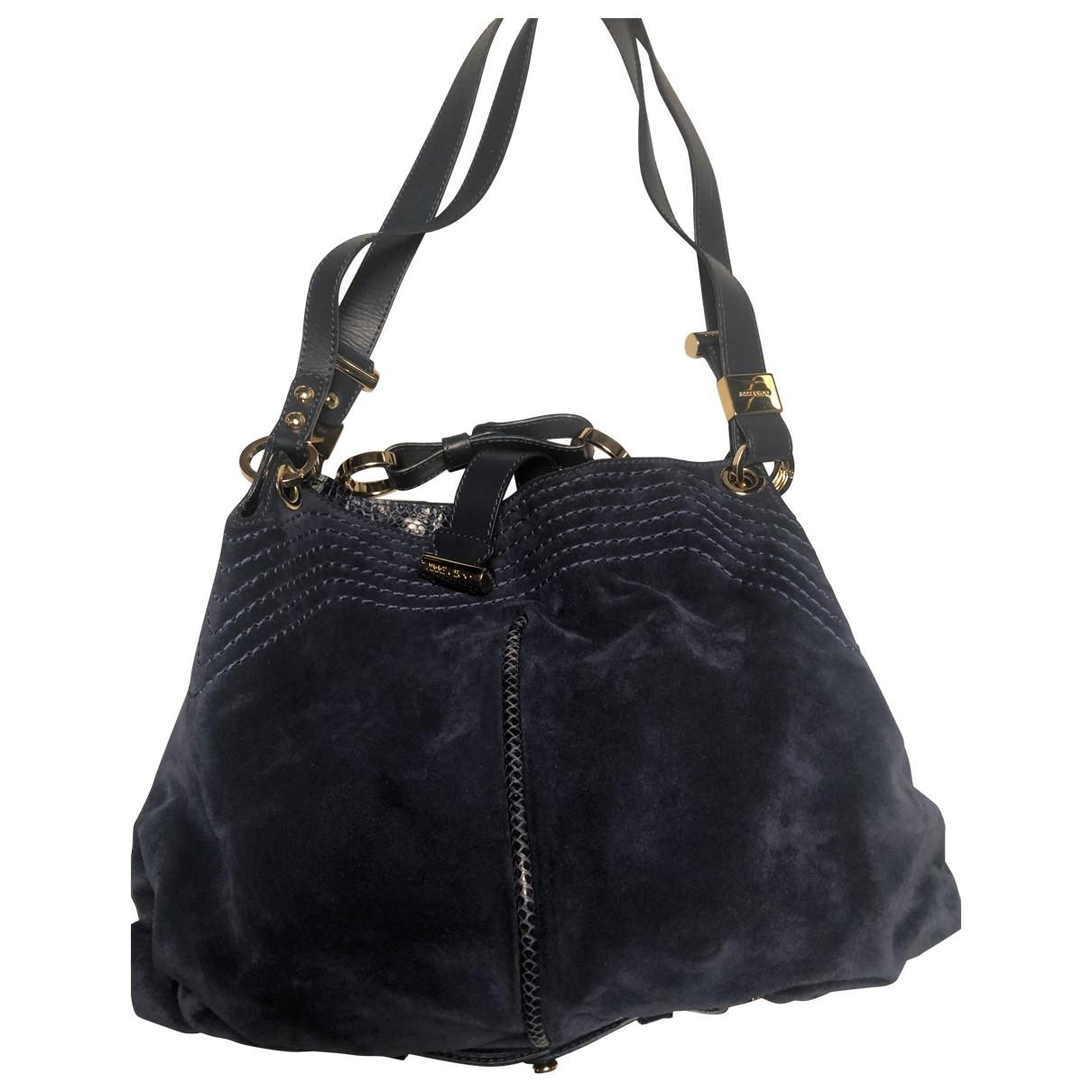 Jimmy Choo \N Navy Suede handbag for Women \N