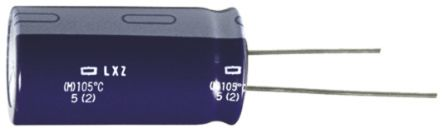 Nippon Chemi-Con 150μF Electrolytic Capacitor 25V dc, Through Hole - ELXZ250ELL151MF15D (10)