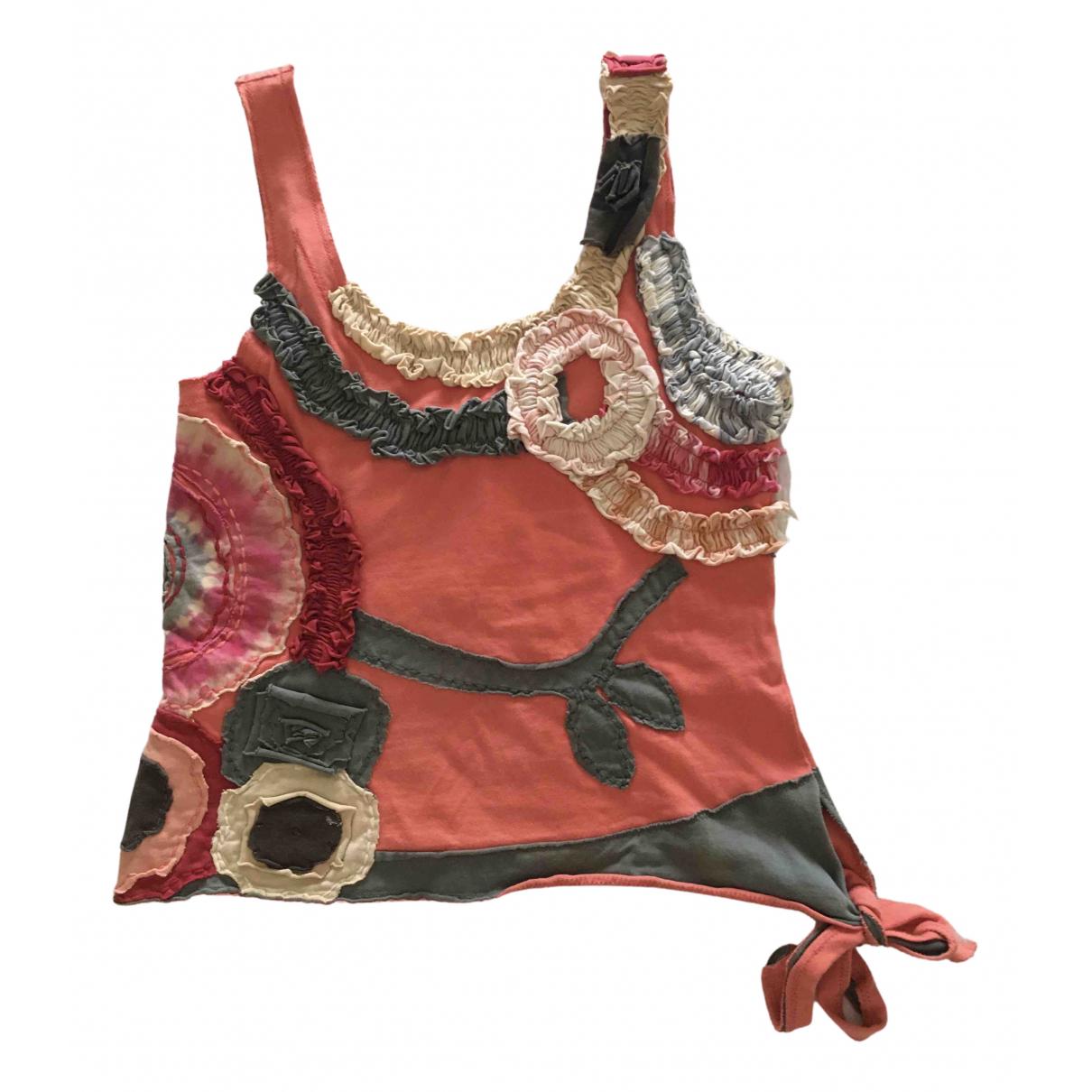Hoss Intropia \N Orange Cotton  top for Women S International