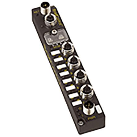 Molex 112038 Series M12 I/O module, 4 Port, PROFIBUS