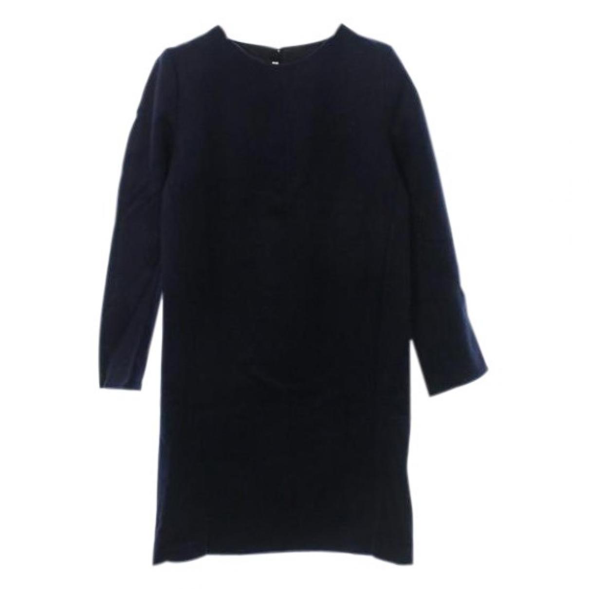 Acne Studios \N Blue Wool dress for Women 36 FR