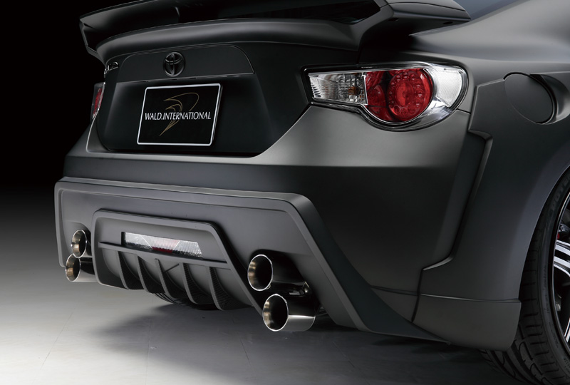 Wald USA FRS.RB.12 Sports Line Rear Bumper Toyota Scion FRS 12-16