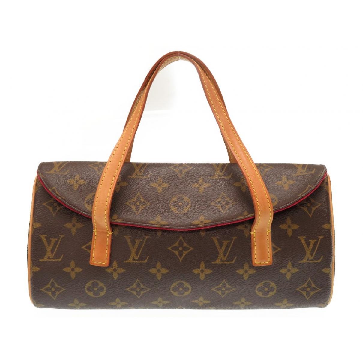 Louis Vuitton Sonatine Brown Cloth handbag for Women \N