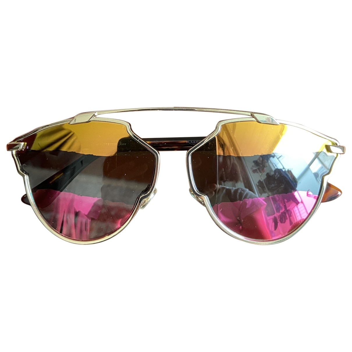 Dior So Real  Gold Metal Sunglasses for Women \N