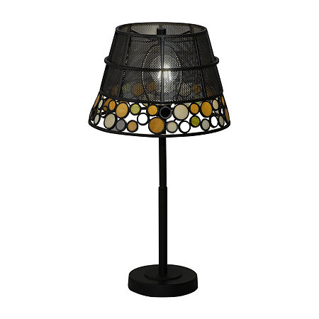 Dale Tiffany Orilla Mesh Glass Table Lamp, One Size , Multiple Colors