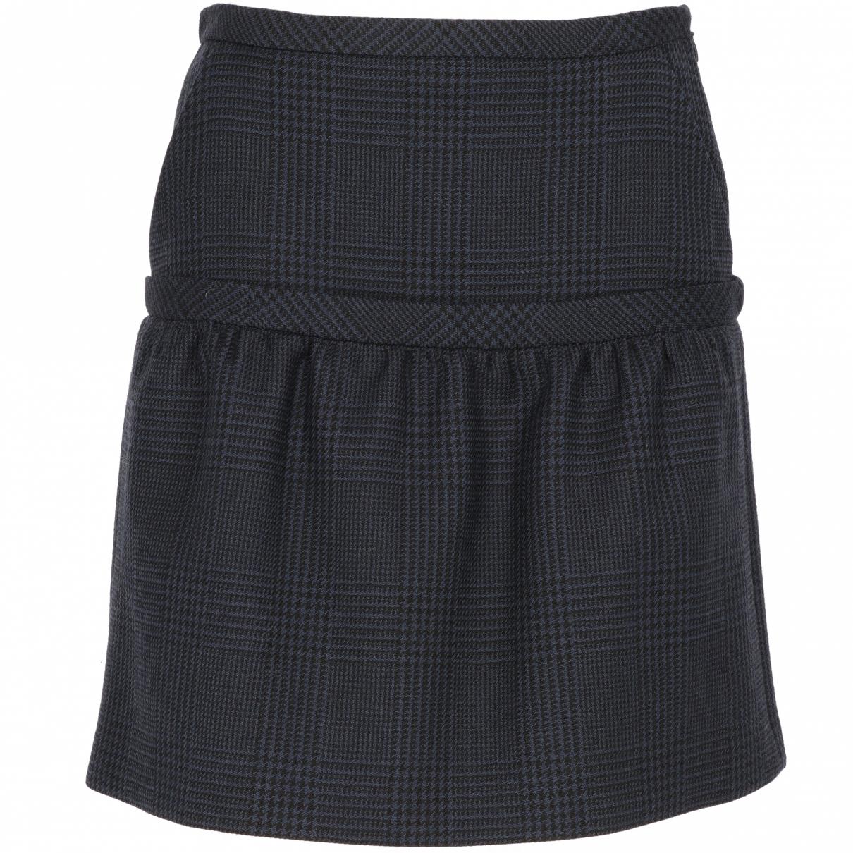 Stella Mccartney \N Blue Wool skirt for Women 38 IT