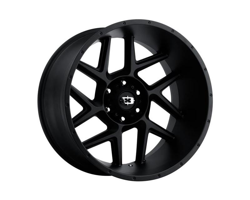 Vision Wheels 360-2981SB12 Sliver Wheel 20x9 8x165.10 12 BKMTXX Satin Black