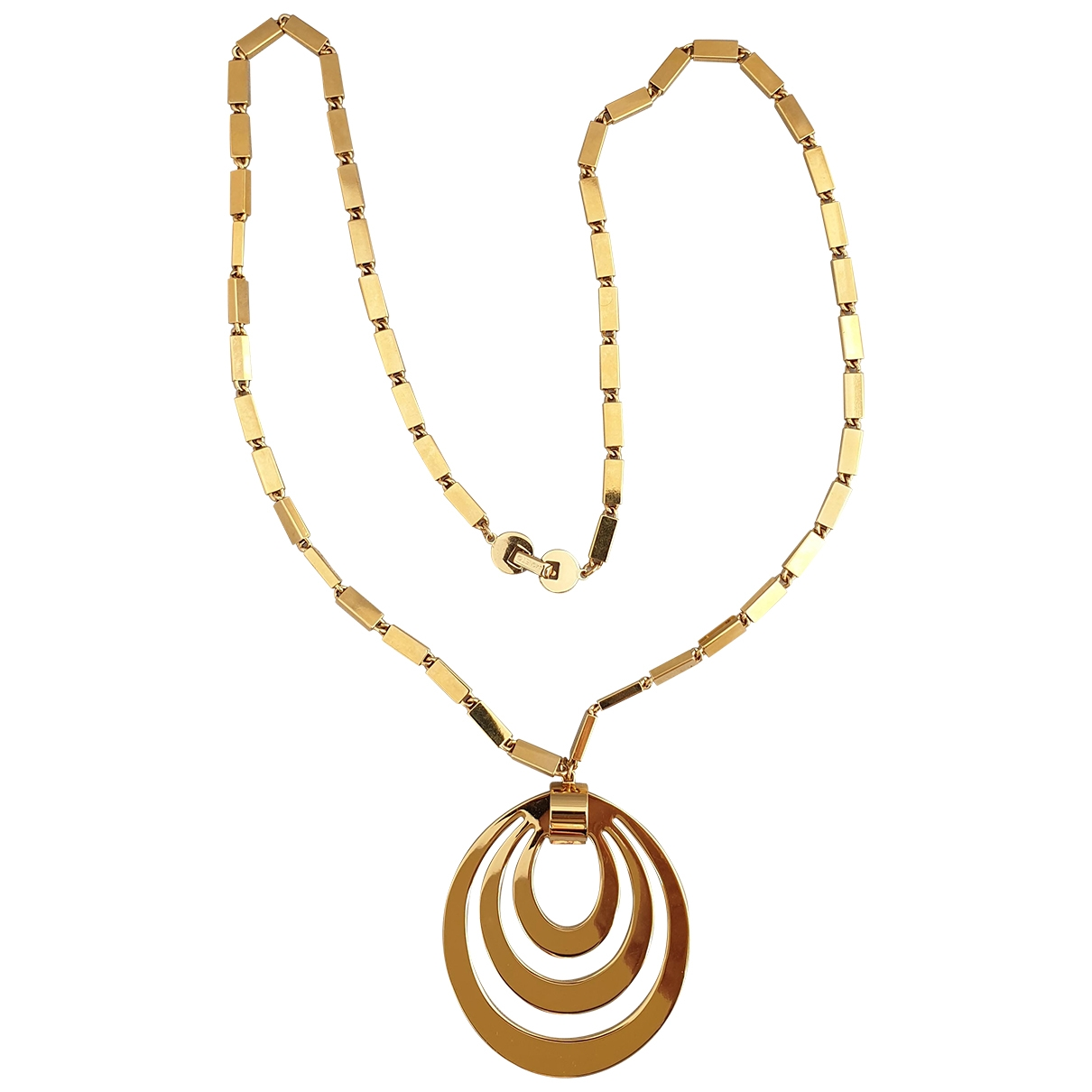 Non Signé / Unsigned \N Gold Gold plated Long necklace for Women \N