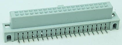 3M , 5100 2.54mm Pitch 10 Way 2 Row Right Angle PCB Socket, Through Hole, Solder Termination