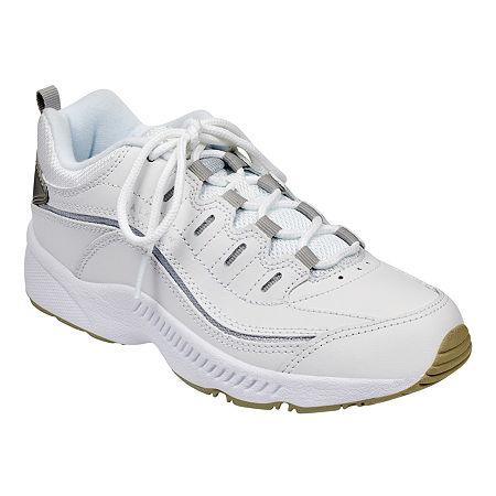 Easy Spirit Roadrun Womens Sneakers, 6 Wide, White