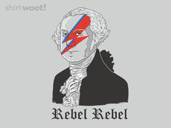 Rebel Rebel T Shirt