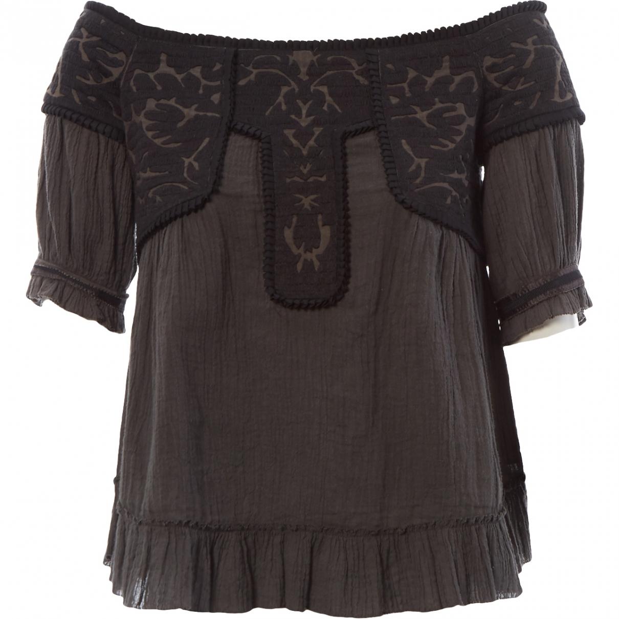 Proenza Schouler \N Brown Cotton  top for Women 4 US