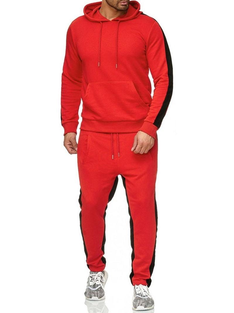 Ericdress European Hoodie Patchwork Men's Outfit
