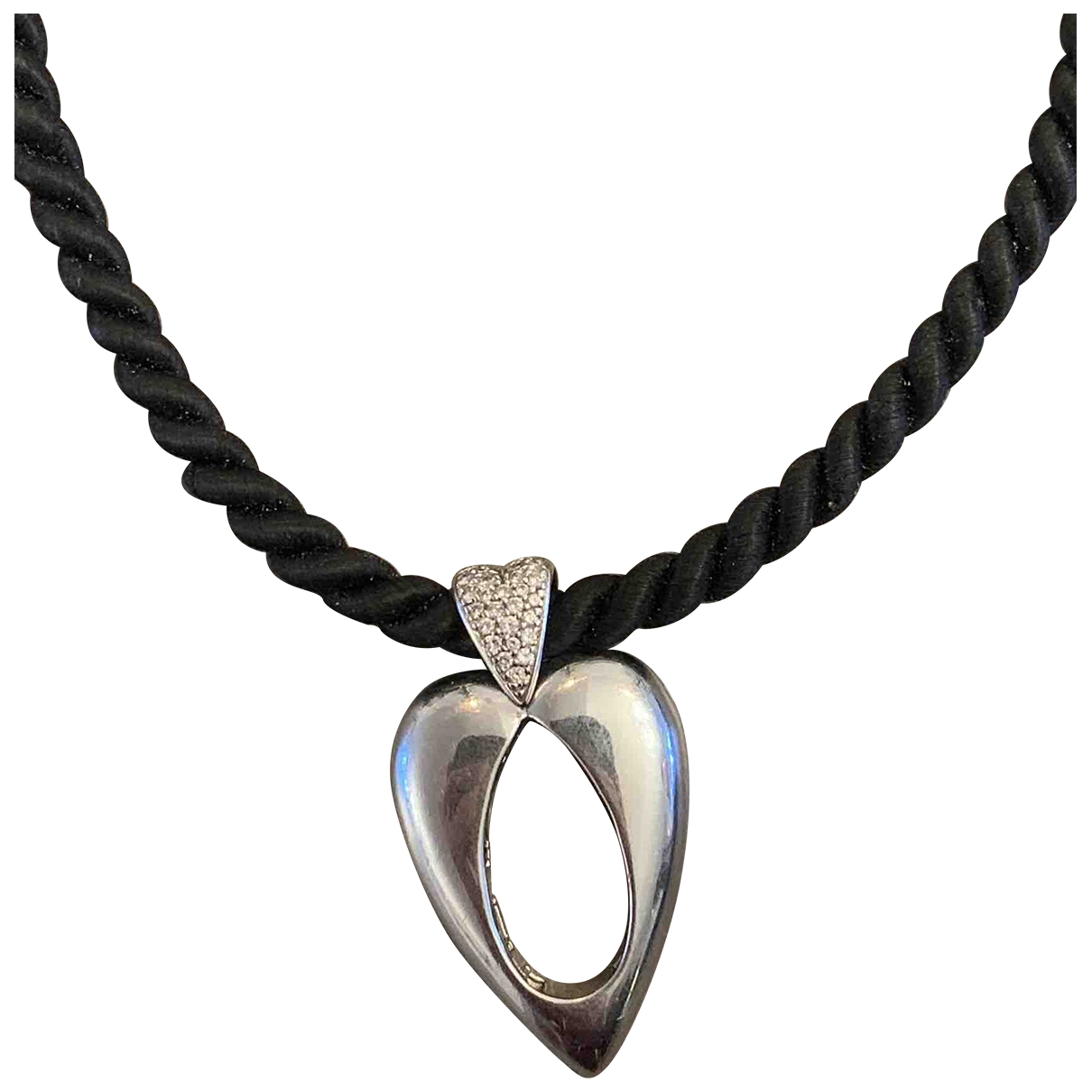 Piaget Coeur Piaget Silver White gold pendant for Women \N